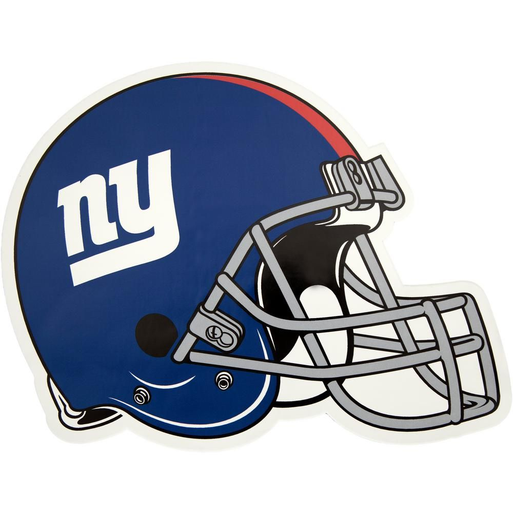 354fcaa7b Applied Icon NFL New York Giants Outdoor Helmet Graphic- Large ...