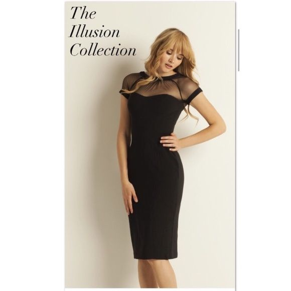 Maggy london black cocktail dress