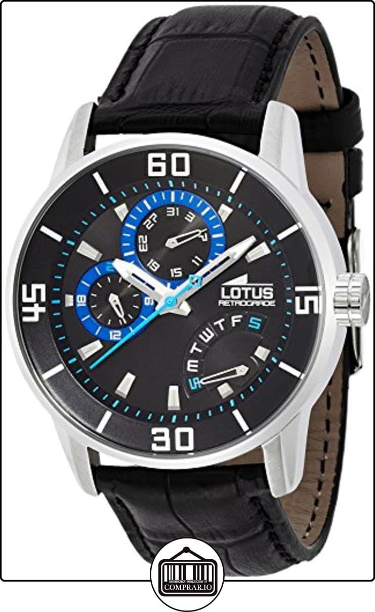2a547ee26376 Lotus Sport 15798 4 Reloj de Pulsera para hombres Clásico   sencillo de ✿  Relojes para hombre - (Gama media alta) ✿