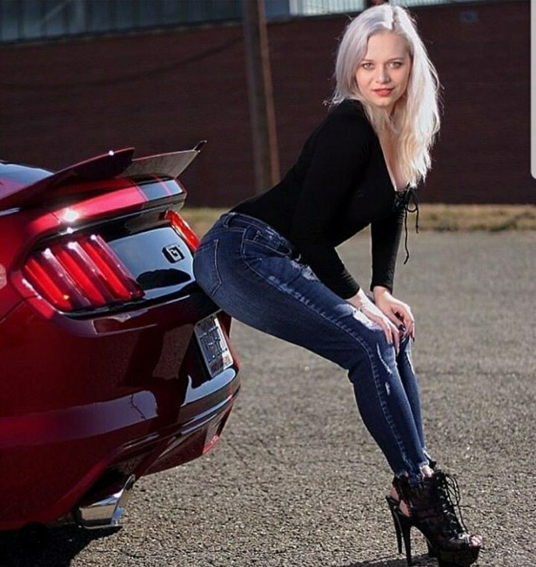Pin by Ray Wilkins on Mustangs Car girls, Ford falcon, Girl