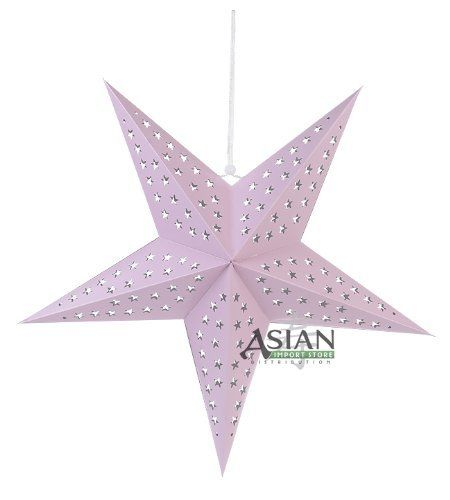 Solid Pink Star Lantern by Asian Import Store, Inc.. $4.25