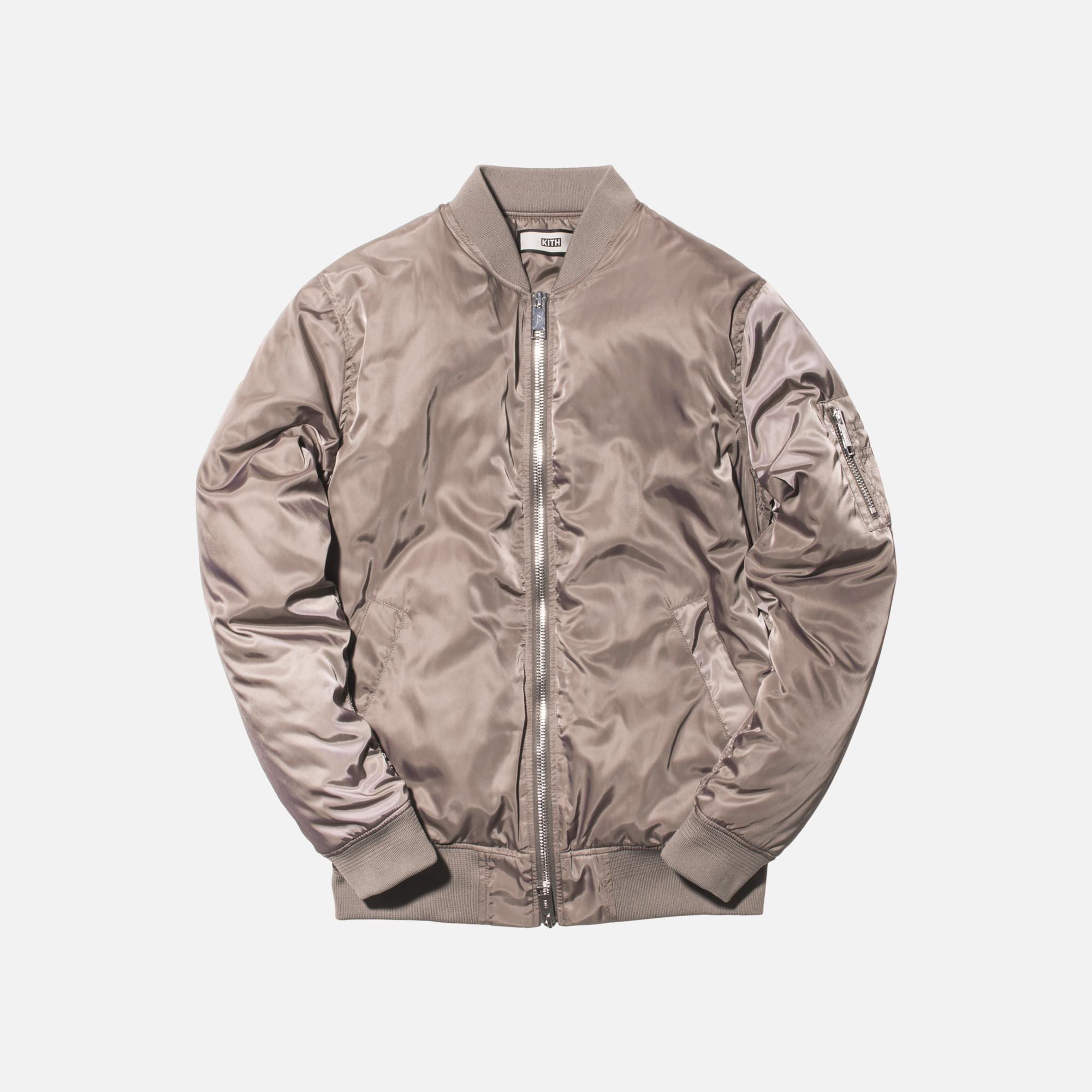 e6c1039c2 Kith Classics Astor Bomber - Cinder | Fashion | Bomber jacket ...