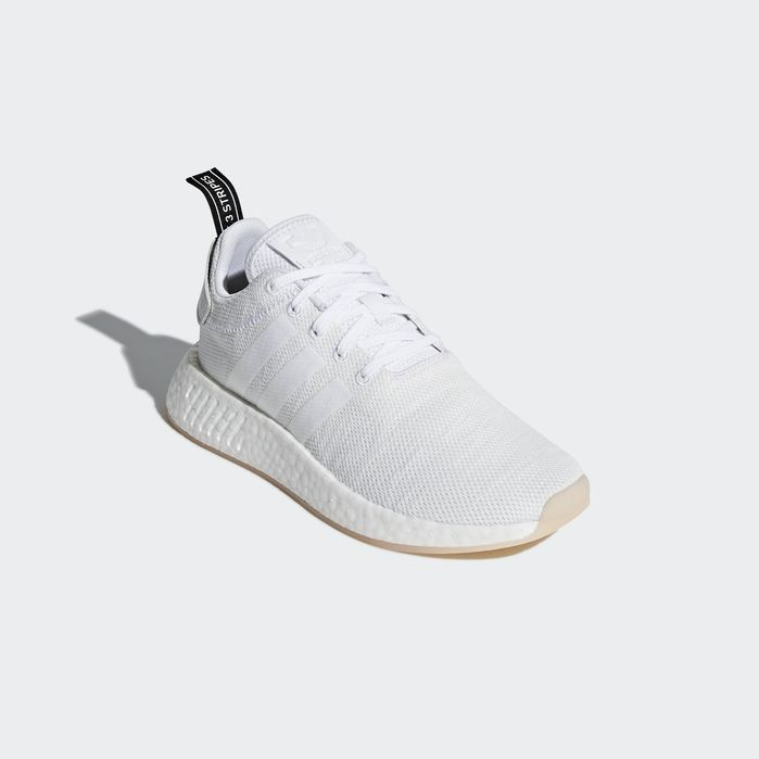 06a861e23 NMD R2 Shoes Crystal White 6.5 Womens