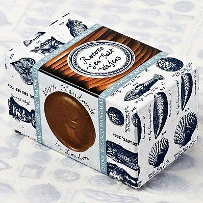 Rococo Chocolates : Organic Milk Chocolate Sea Salt Wafers | Sumally (サマリー)