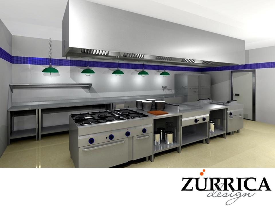 las mejores cocinas industriales en zurrica design On mejores cocinas industriales