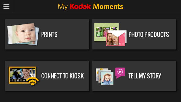Use My Kodak Moments App to print pictures from your phone