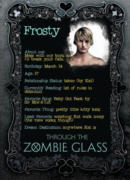 Through The Zombie Glass Quotes