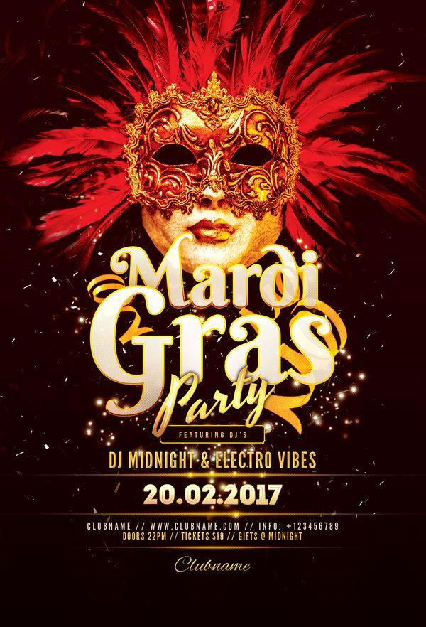 mardi gras carnival flyer template by stylewish the best mardi gras