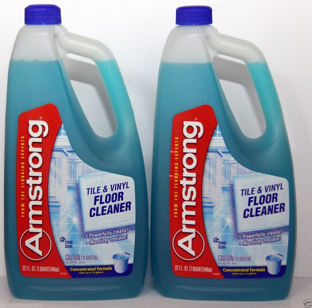 2 Armstrong Tile & Vinyl Floor Cleaner Concentrated