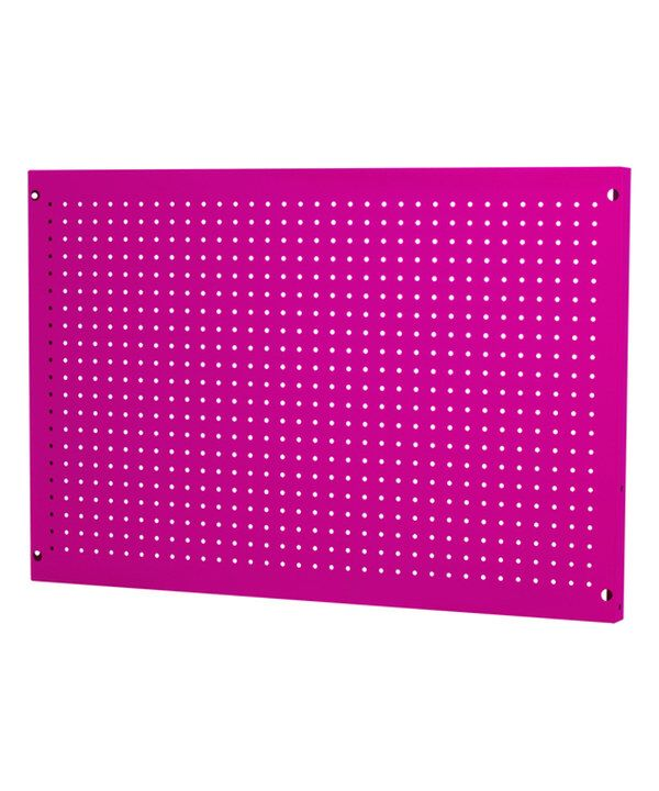 "Look at this Pink 36"" x 24""Pegboard on #zulily today!"