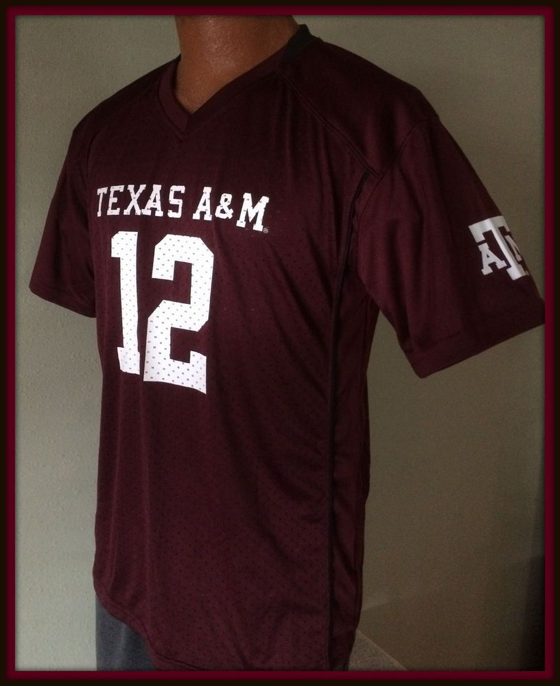 competitive price 63702 a3c20 Details about Adidas Texas A&M Aggies Youth Medium Football ...
