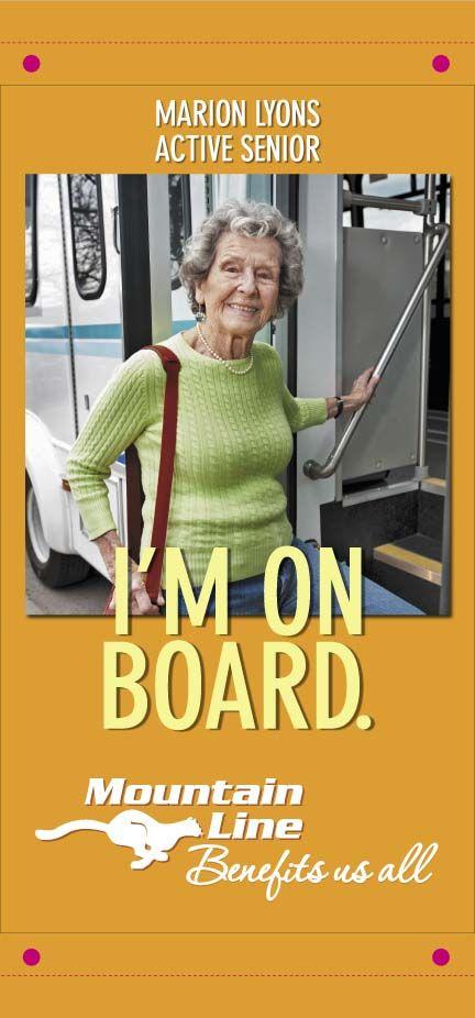 Seniors ride Mountain Line
