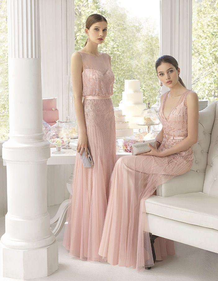 Color Inspiration: Ines Di Santo + Blush Wedding Ideas   Vestidos ...