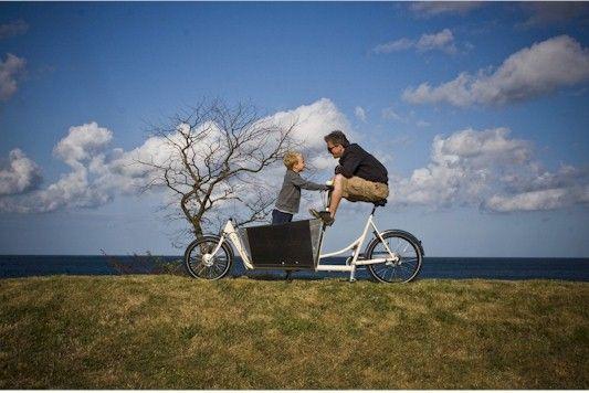 Biporteur de Félix, Dannemark  #cargobike