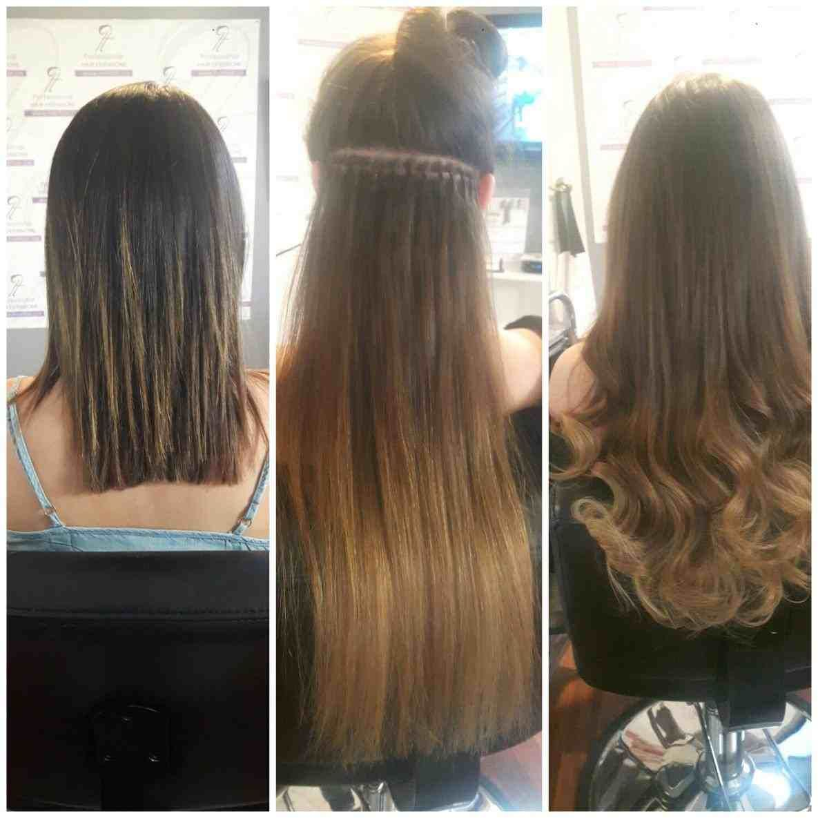 30 inch hair extensions before and after | hair stylist and
