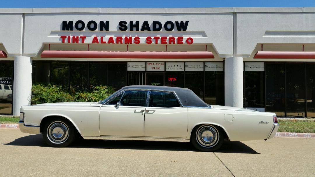 1967 Lincoln Continental Wincos 70 Film Call Us Today 972 227 8468 Auto Tint Shop Dallas Tx Moon Shadow Shadow Tinted Windows