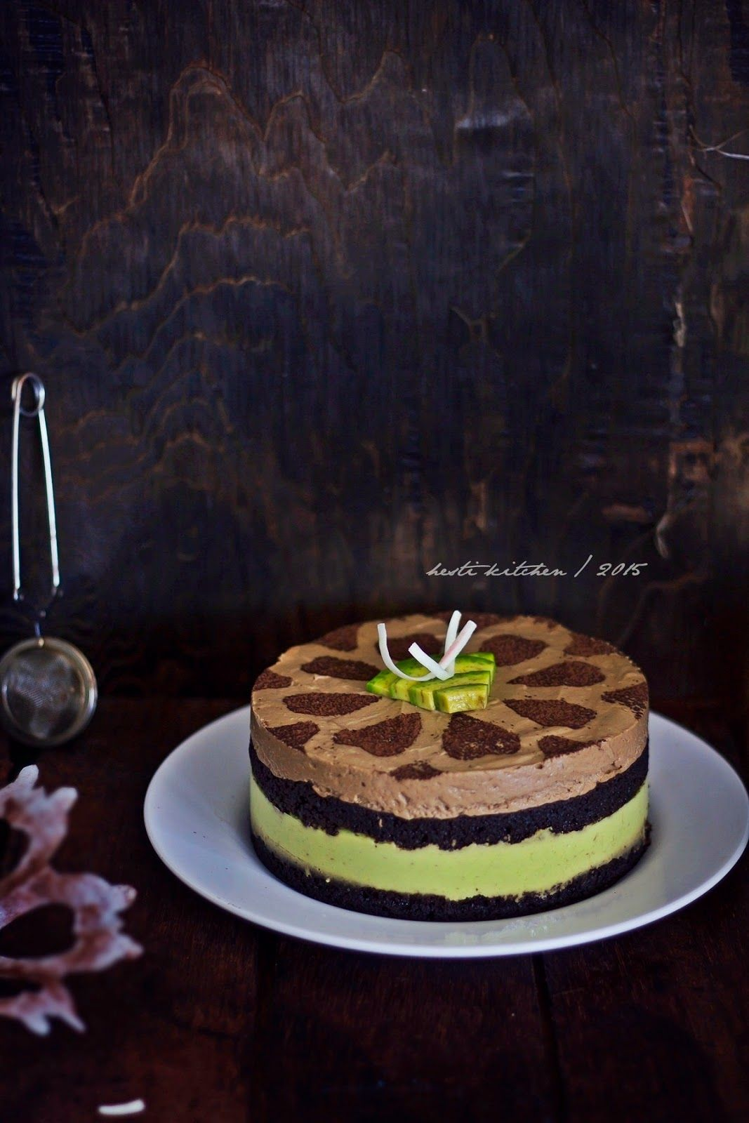 Hesti S Kitchen Yummy For Your Tummy Avocado Mousse Cake Kue Alpukat Avocado Dessert Makanan Manis