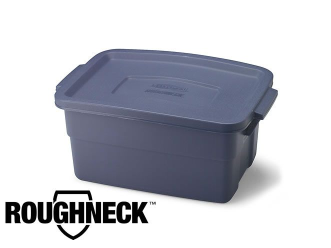 Rubbermaid 10 Gallon Roughneck Storage Box Bin With Images Moving Supplies Rubbermaid Roughneck