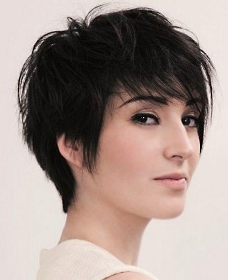 Short choppy haircuts for women