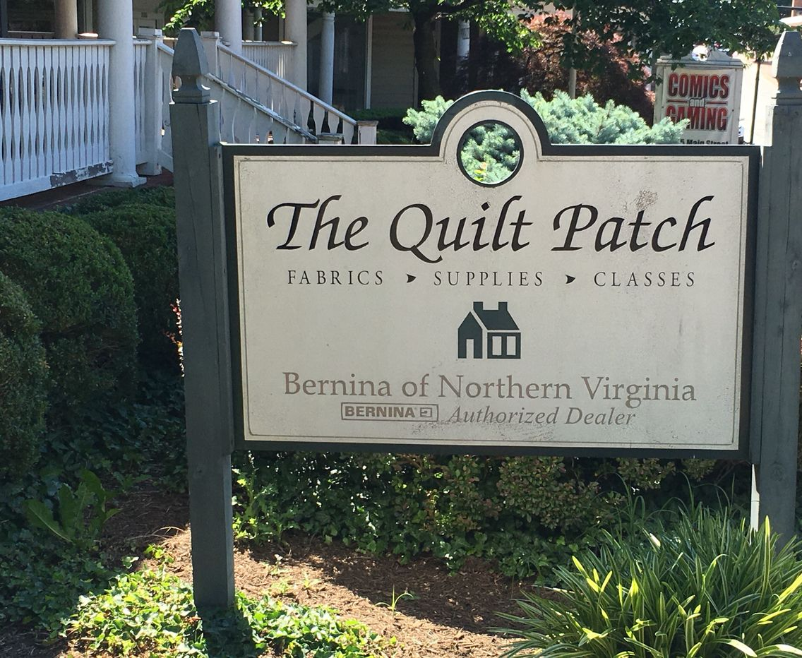 The Quilt Patch, Fairfax, VA. Visited 6/9/2016. Shop is in ...