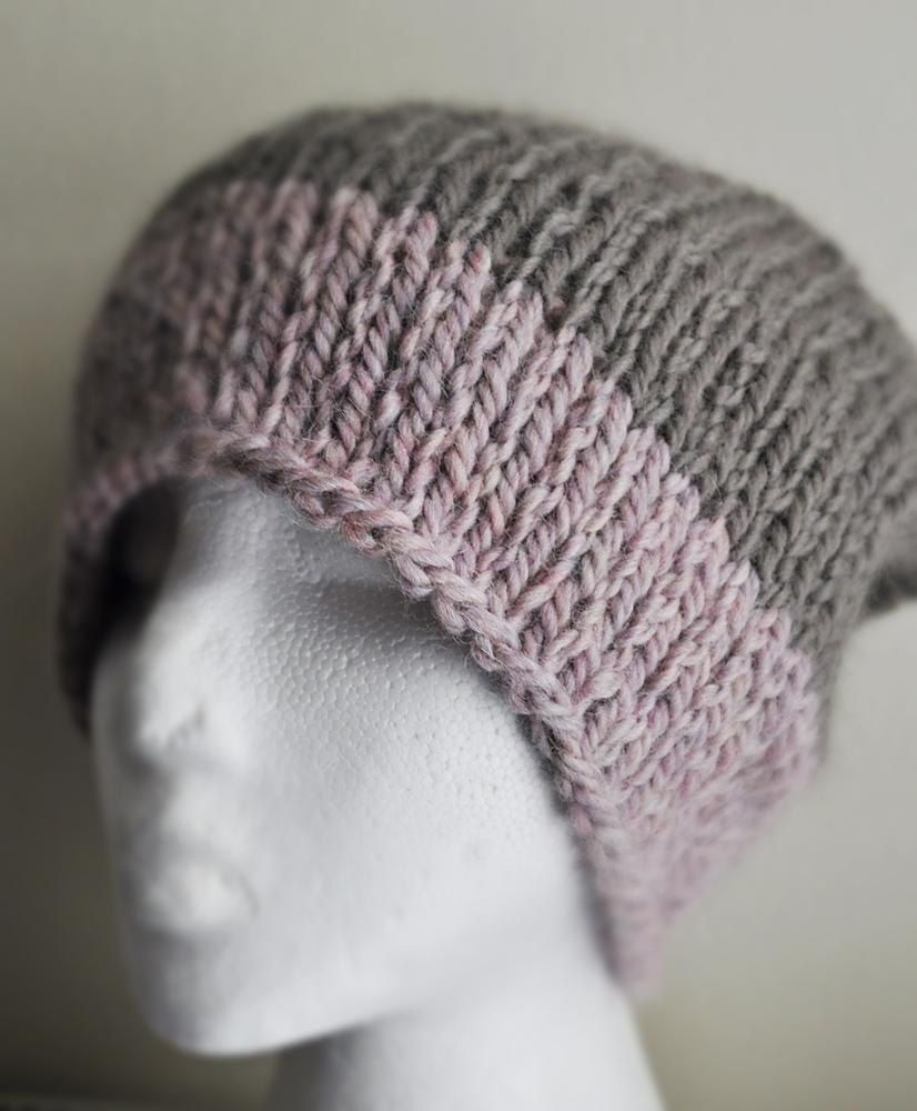 Easy Peasy Slouchy Hat Knitting pattern by Arty Lou ...