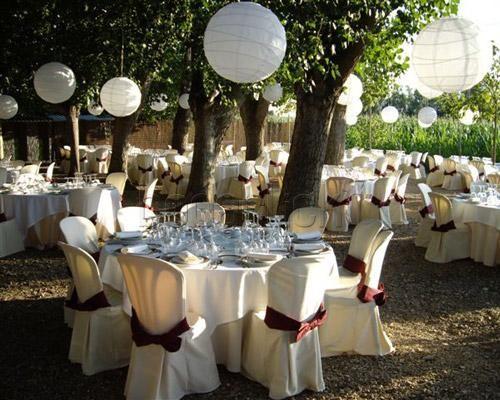Decoraci n de jardines para bodas preparativos para - Decoracion jardin boda ...