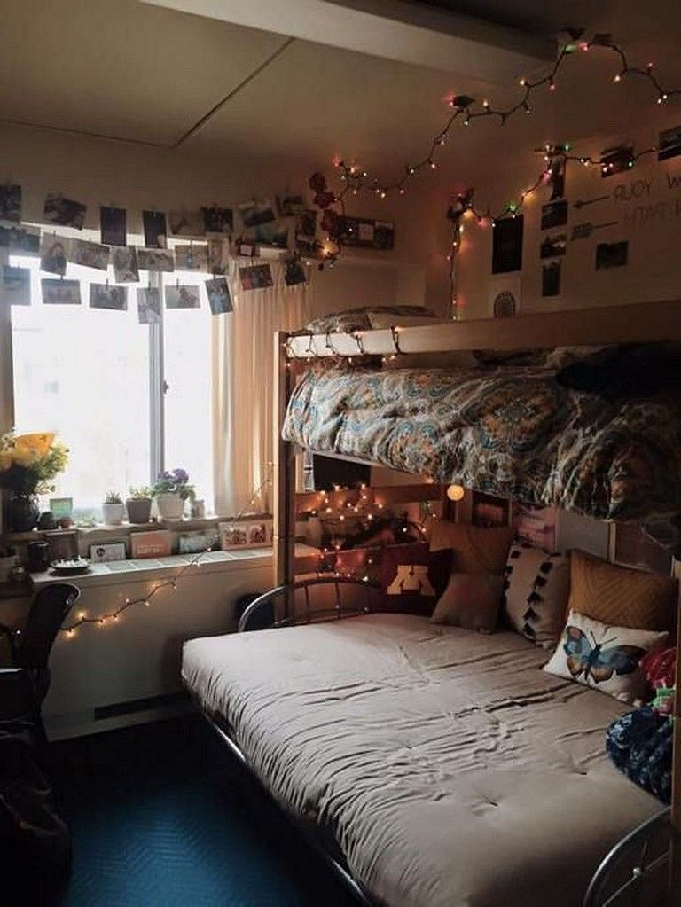 51 Cute Dorm Room Ideas That You Need To Copy Right Now Realivin Net Cute Dorm Rooms Luxury Dorm Room Simple Bedroom