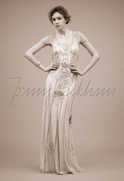 Robe de mariée Jenny Packham Eden Ivoire d'occasion à Paris