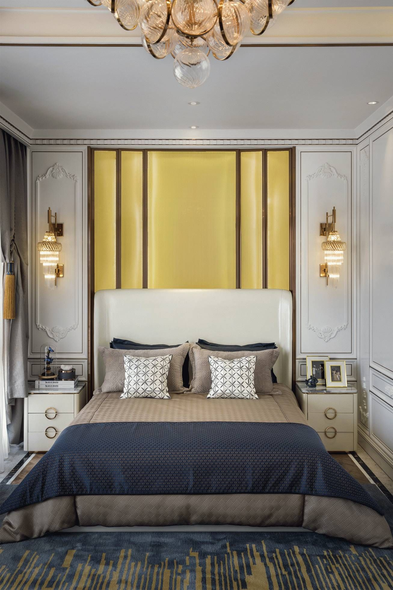 Pin by Vicky Zheng on FF | Pinterest | High headboards, Bedrooms and ...