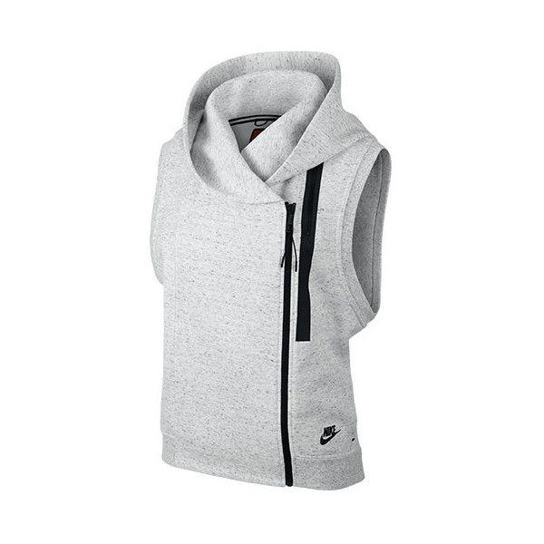 nike fleece vests