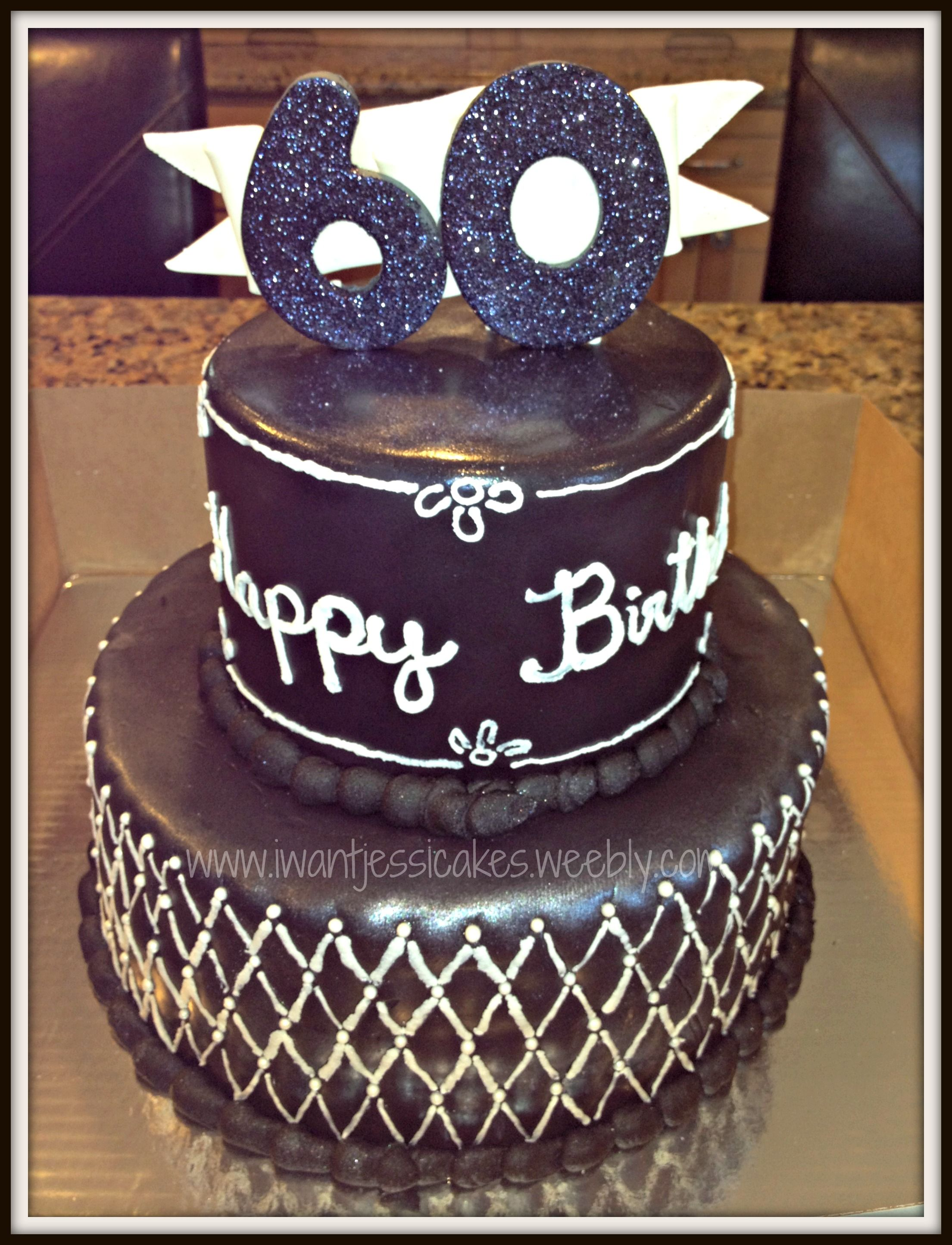 60th birthday cake Cake Fathers Day and Other Manly Cakes and