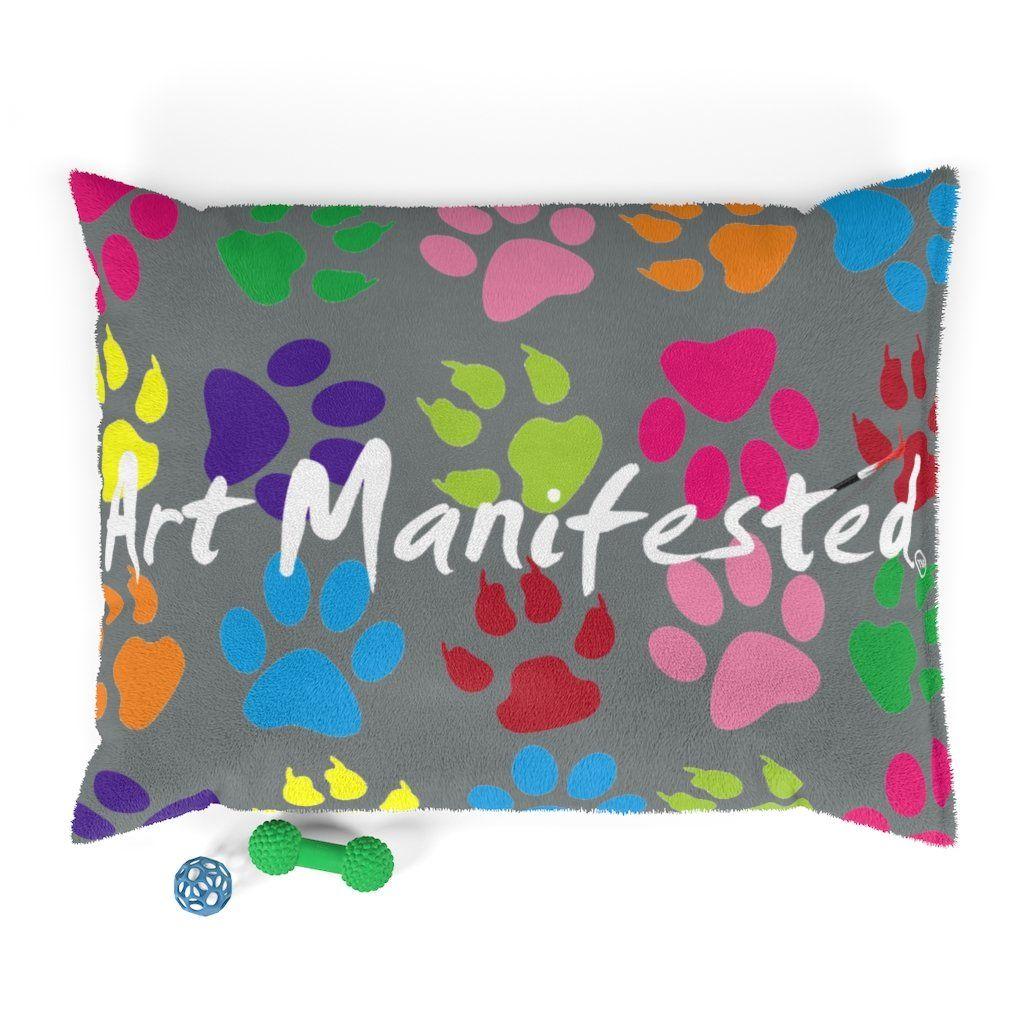 Pawfect Art Pet Bed In Grey - 40x30