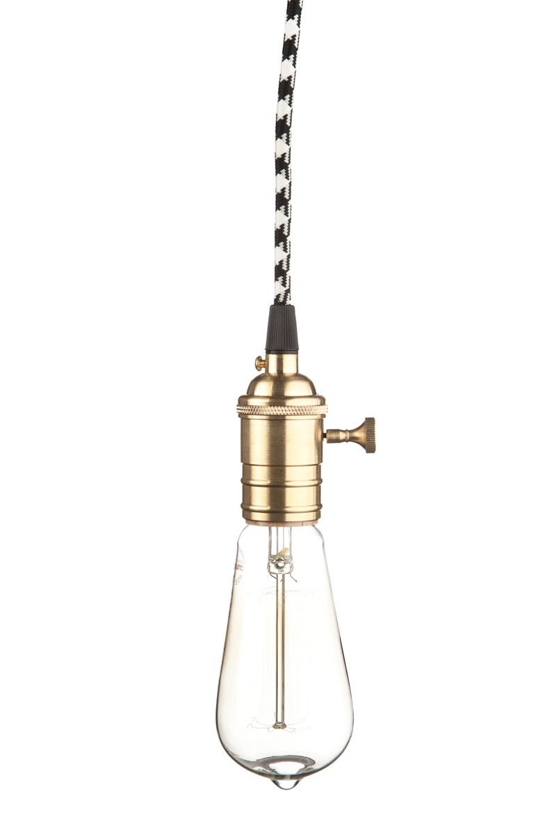 Br Plug In Pendant Light
