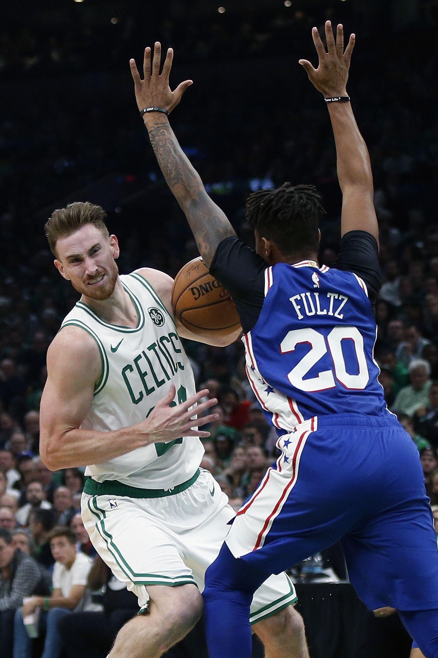 Celtics beat 76ers 105 87 as hayward irving make returns