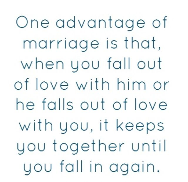 when one partner falls out of love