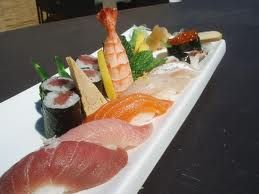 Sushi and I mean real sushi!! Not just rolls. Give me the raw fish!