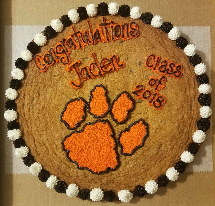Central York High School Graduation Cookie Cake Graduation