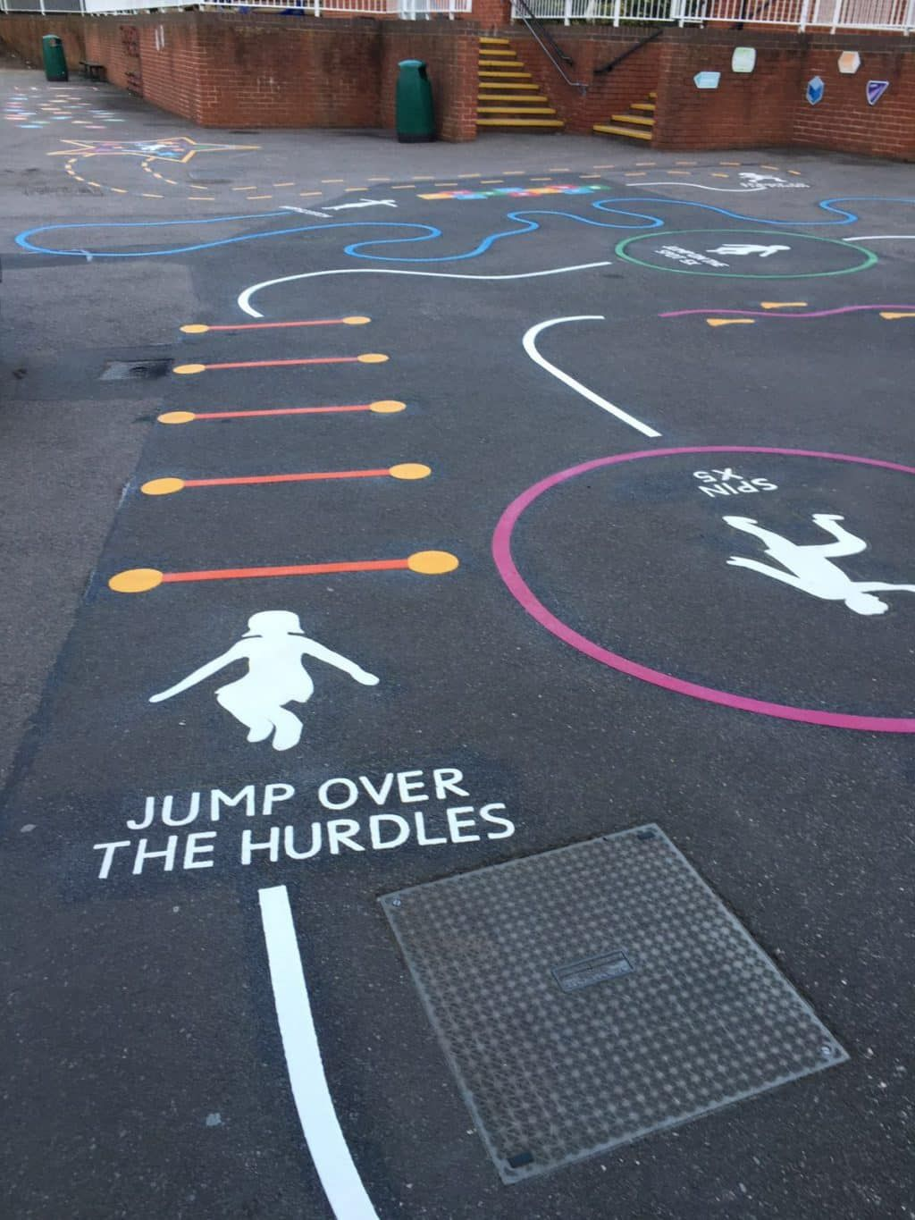 Pin By Ag Ap On Hopscotch Games Playground Playground