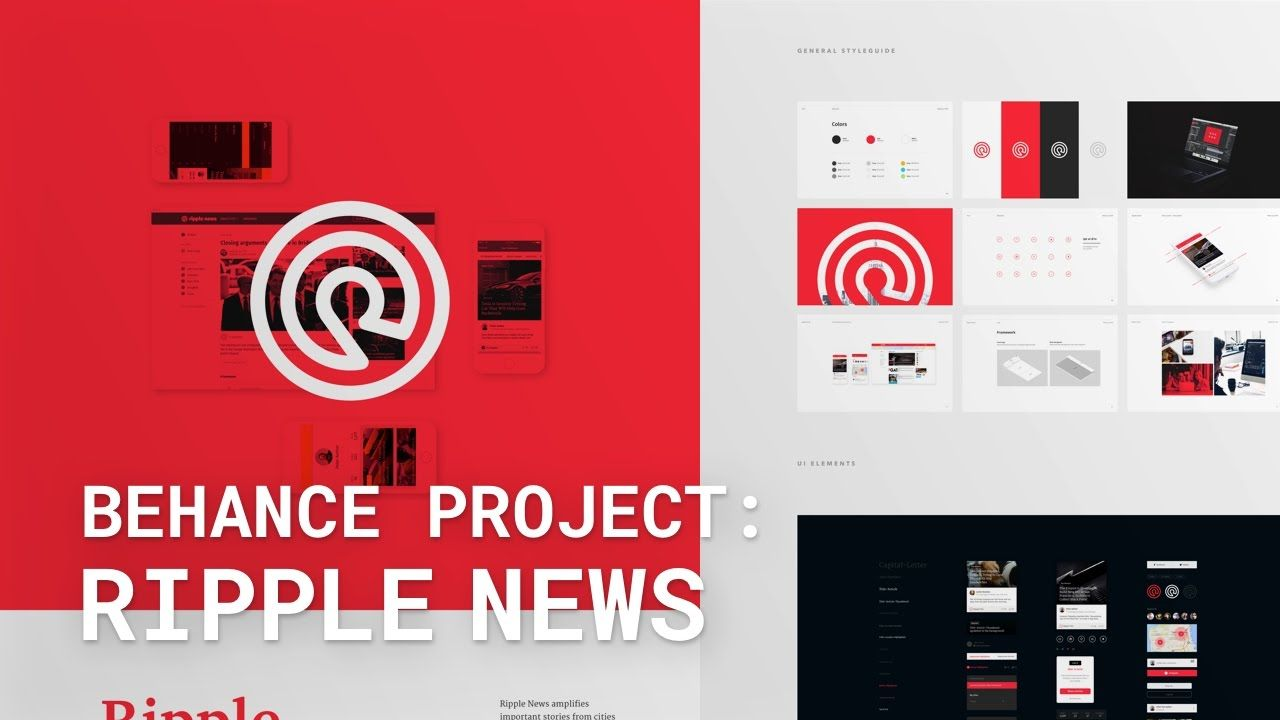 Tool: Behance A great example of utilizing Behance