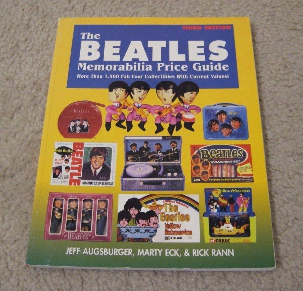 1997 BEATLES MEMORABILIA PRICE GUIDE BOOK 3RD EDITION