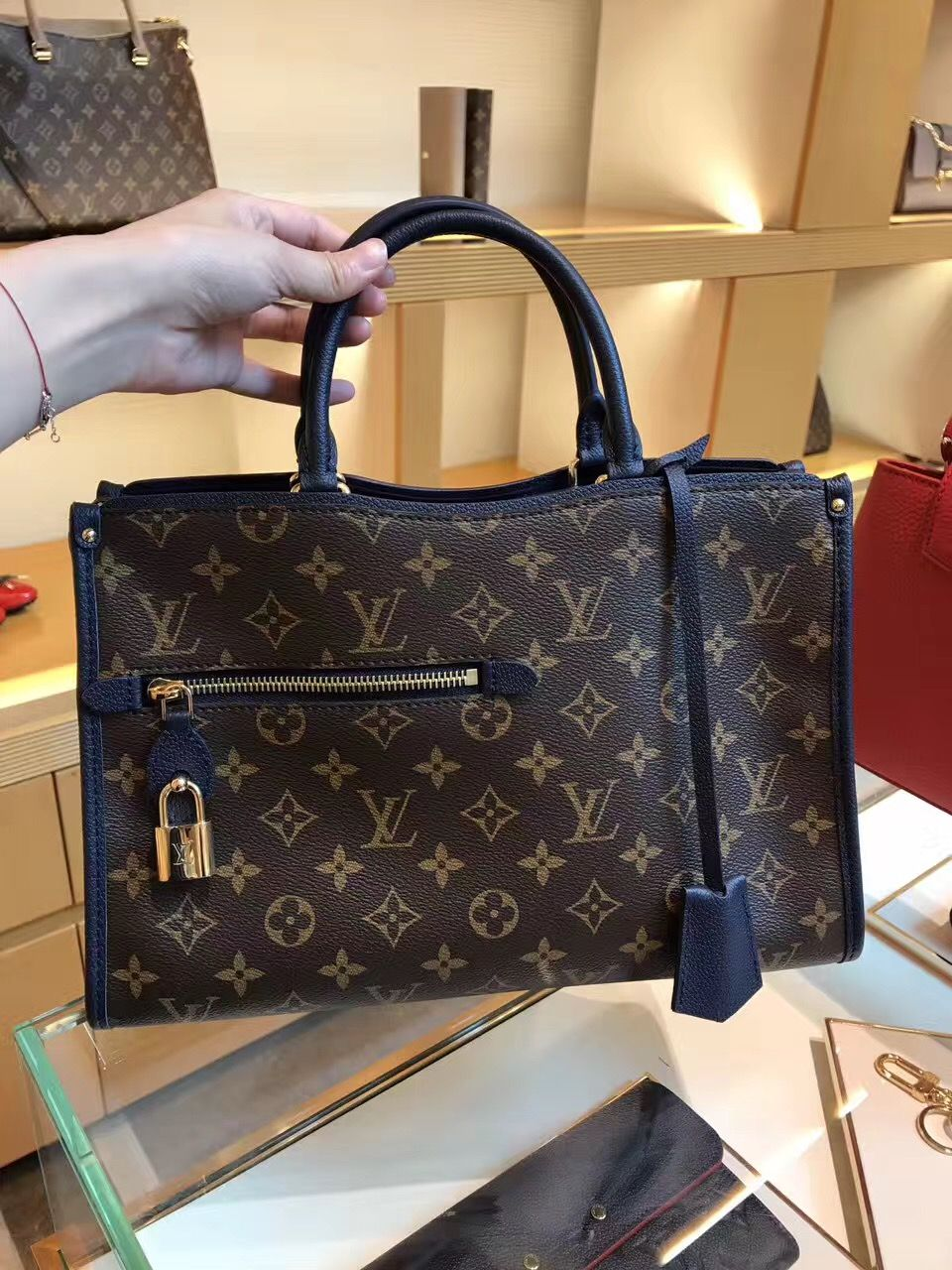 f35858aa7b74 Louis Vuitton Popincourt PM Bag M43434 Marine  louis  vuitton  popincourt   m43434