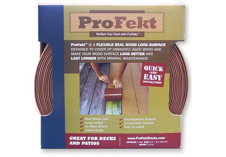 Profekt™ Decking Strip - Cedar | Deck makeover, Deck ...