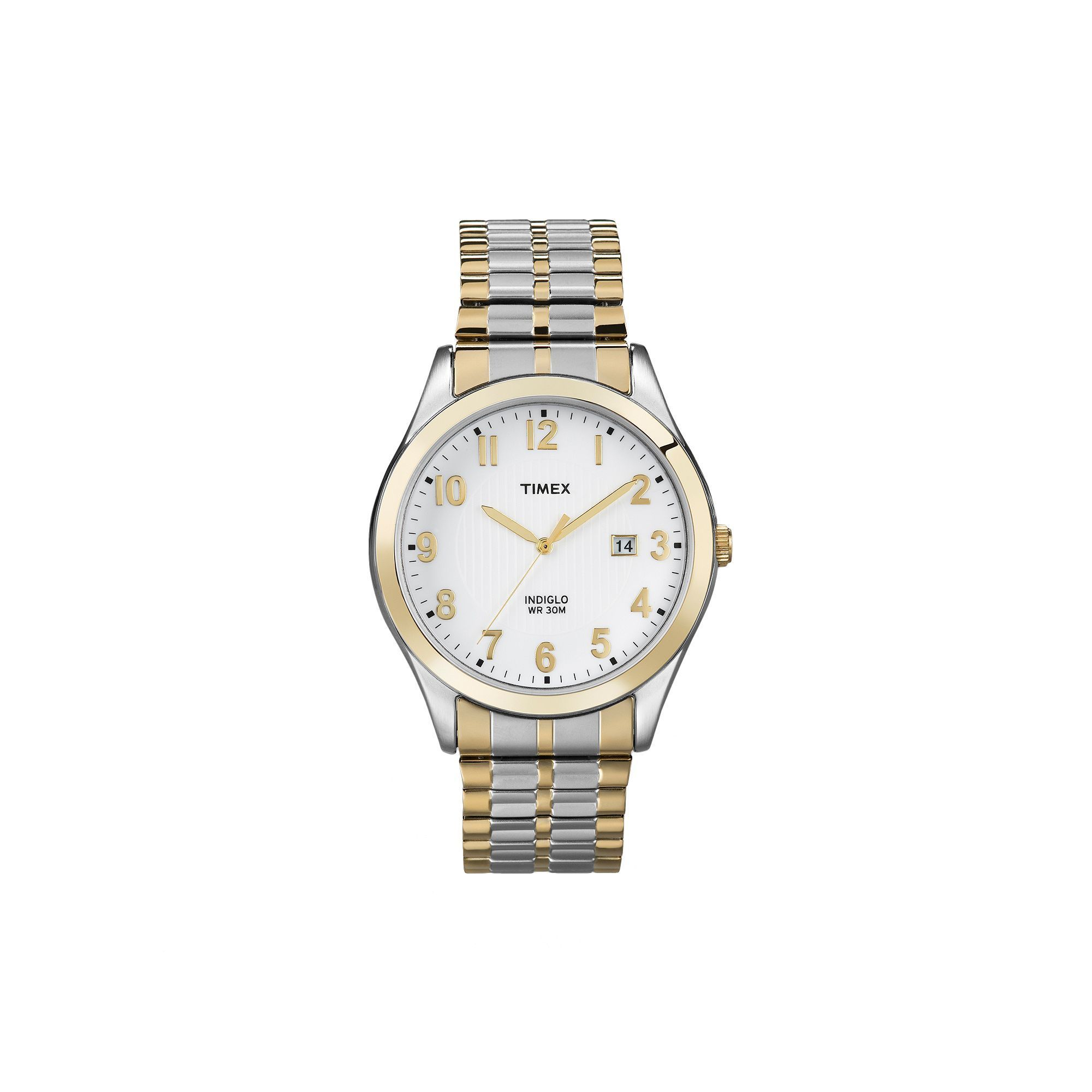 c86d02f23702 Timex Men s Two Tone Stainless Steel Expansion Watch - T2N851KZ ...