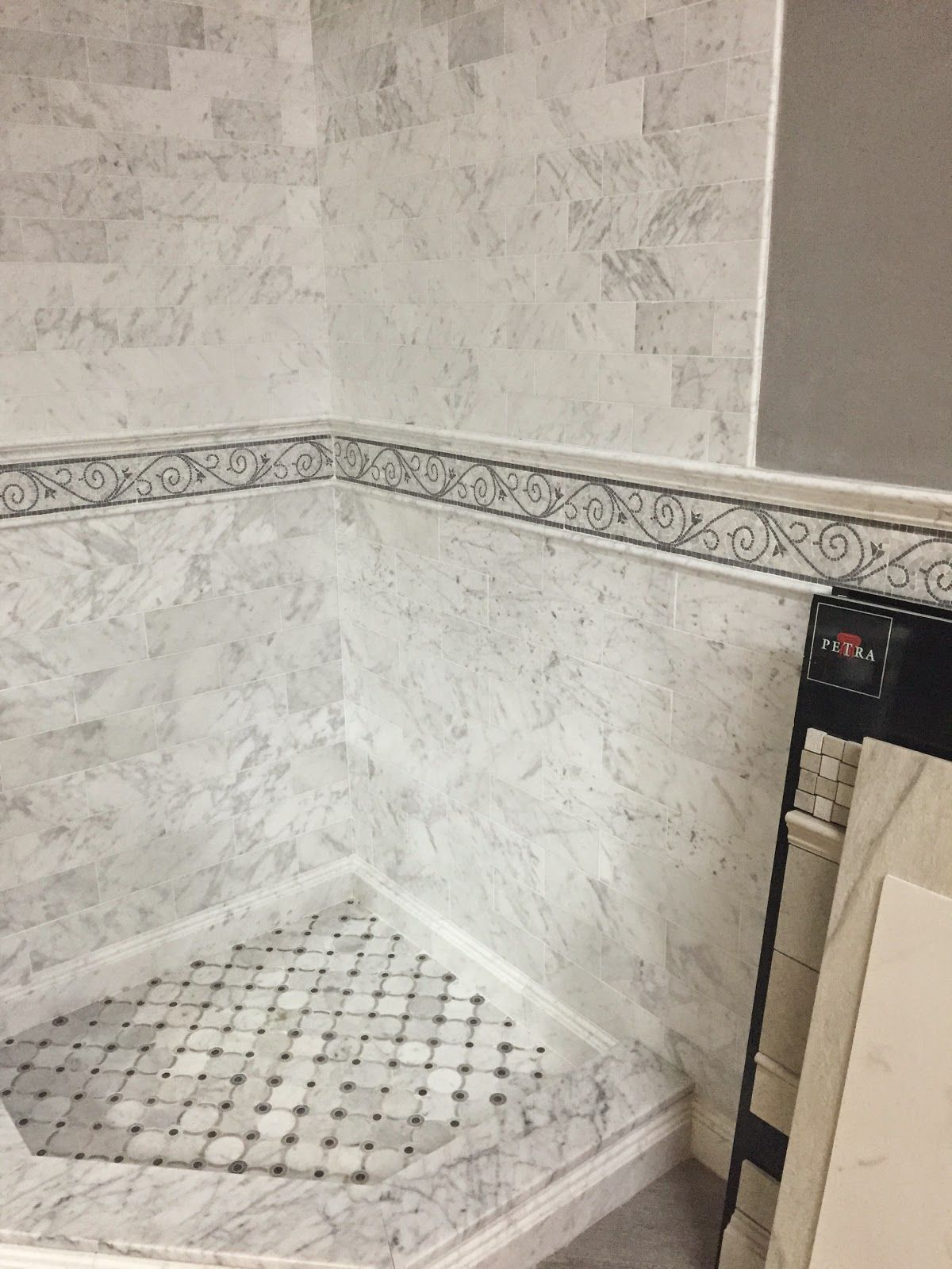 Image result for wainscoting made of tile | Rattray Small Bathroom ...