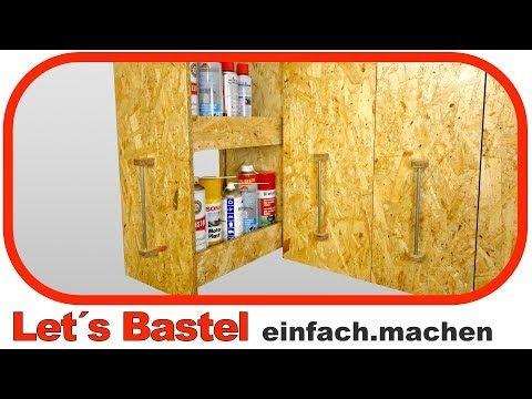 683) ✅ Übersichtliche Aufbewahrung Apothekerschrank - küchenschrank selber bauen