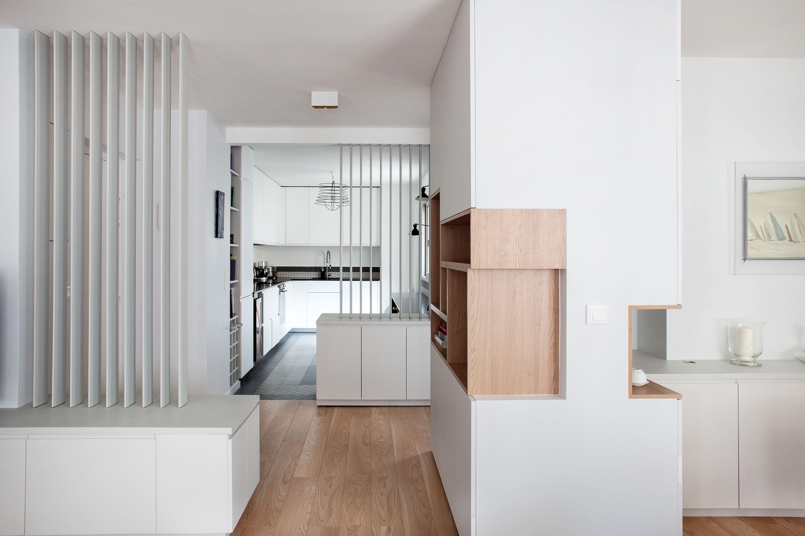 claustra s paration cloison s parative lames de bois entr e pinterest. Black Bedroom Furniture Sets. Home Design Ideas