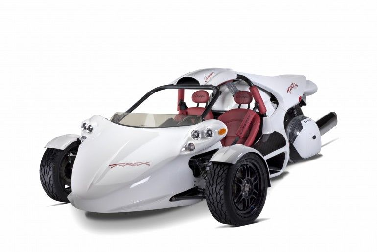 BMW-powered T-REX 16S joins Campagna's line of reverse trikes
