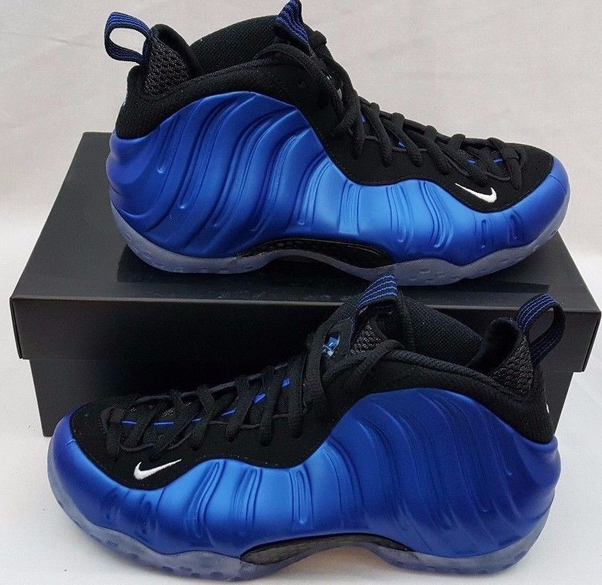2017 Nike Air Foamposite One XX Royal Blue Retro Size 7 895320-500 Jordan  Penny