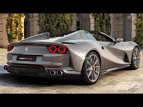 2020 Ferrari 812 GTS V12 Spider - Performance And Exclusivity - YouTube #newferrari