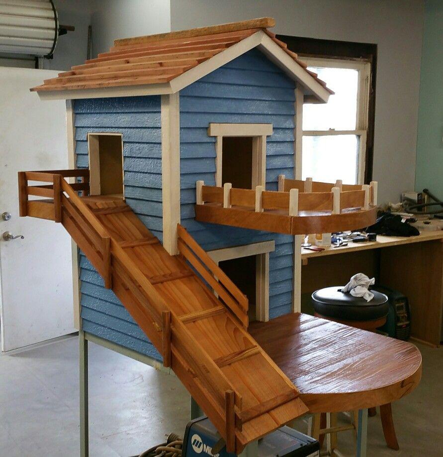 Two Story Dog House Small Dog House Easy Dog House Dog